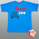 Футболки Россия 2018 Футбол