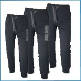 Детские Утеплённые брюки с начёсом, на флисе оптом