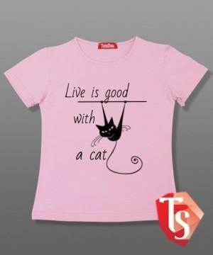 футболка для девочки 5044908 Россия #TeenStone