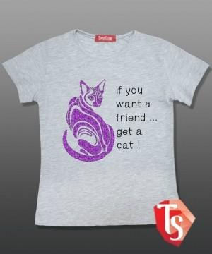 футболка для девочки 5047303 Россия #TeenStone