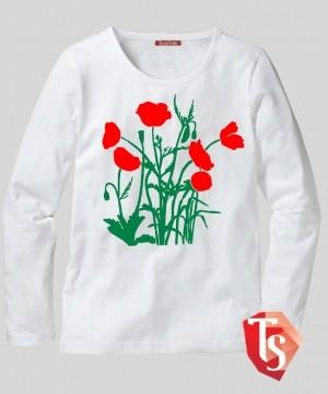лонгслив для девочки 6170101 Россия #TeenStone