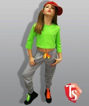 футболка для девочки хип-хоп 9219807 Россия #TeenStone