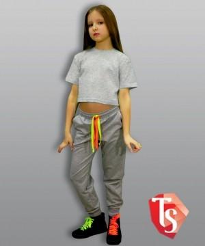 футболка для девочки хип-хоп 9319803 Россия #TeenStone