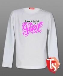 Лонгслив для девочки