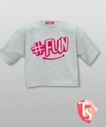 футболка для девочки хип-хоп 9365303 TeenStone