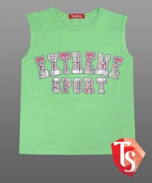 безрукавка Интернет- магазин  Teenstone 938/7  купить детские футболки майки для мальчиков оптом