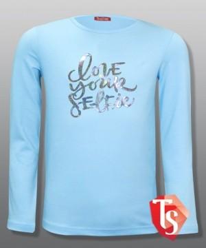лонгслив для девочки Интернет- магазин  Teenstone 6103406 детские лонгсливы оптом