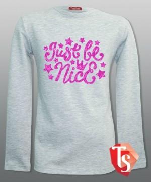лонгслив для девочки Интернет- магазин  Teenstone 6159103 детские лонгсливы оптом