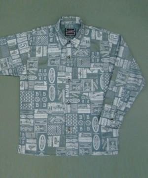 рубашка для мальчика 10016/3 Россия #TeenStone