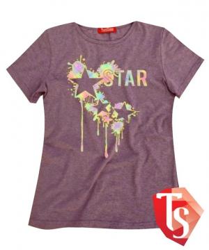 футболка для девочки Интернет- магазин  Teenstone 5084629 Россия #TeenStone