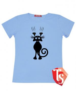 футболка для девочки Интернет- магазин  Teenstone 5085006 Россия #TeenStone