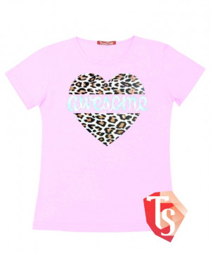 футболка для девочки Интернет- магазин  Teenstone 5085108 Россия #TeenStone