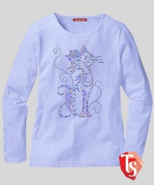 лонгслив для девочки Интернет- магазин  Teenstone 6177106 Россия #TeenStone