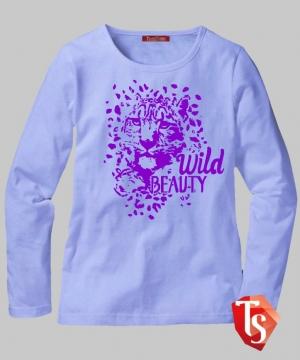 лонгслив для девочки Интернет- магазин  Teenstone 6177306 Россия #TeenStone