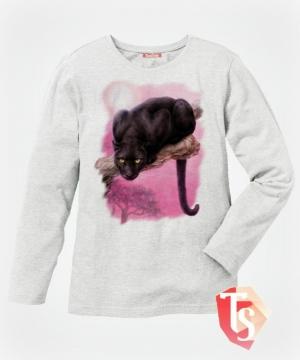 лонгслив для девочки Интернет- магазин  Teenstone 6177803 Россия #TeenStone