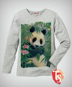 лонгслив для девочки Интернет- магазин  Teenstone 6122203 Россия #TeenStone