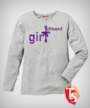 лонгслив для девочки Интернет- магазин  Teenstone 6176803 Россия #TeenStone