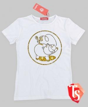 футболка для девочки Интернет- магазин  Teenstone 5080301 Россия #TeenStone