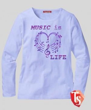 лонгслив для девочки Интернет- магазин  Teenstone 6178106 Россия #TeenStone