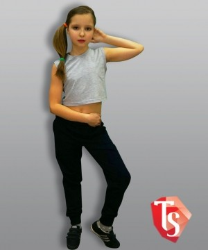 майка для девочки хип-хоп Интернет- магазин  Teenstone 9119803 Россия #TeenStone