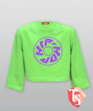 футболка для девочки хип-хоп Интернет- магазин  Teenstone 9264307 Россия #TeenStone
