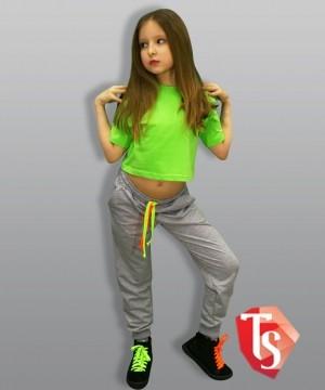 футболка для девочки хип-хоп 9319807 Россия #TeenStone