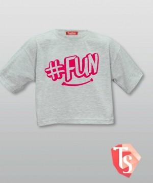 футболка для девочки хип-хоп 9365303 Россия #TeenStone