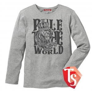 лонгслив для мальчика Интернет- магазин  Teenstone 6080303 Россия #TeenStone