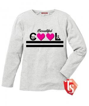 лонгслив для девочки Интернет- магазин  Teenstone 6180803 детские лонгсливы оптом